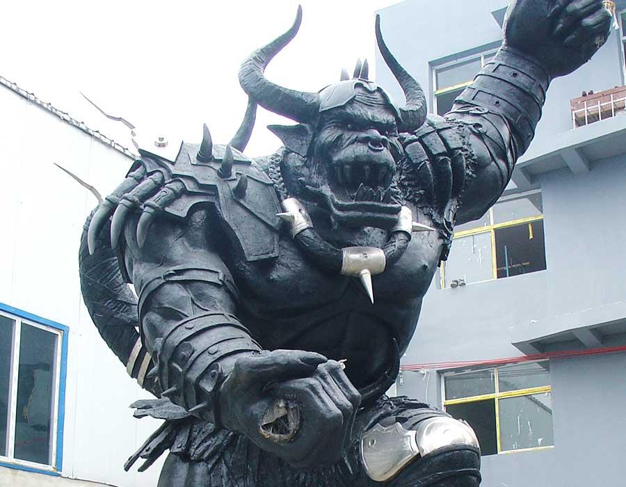 cartoon-sculpture-Resin-Fiber-Bronze-Cartoon-Character-Statue-Cartoon-Sculpture
