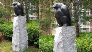 bonnie sculpture-Bronze Bird Sculpture770x430