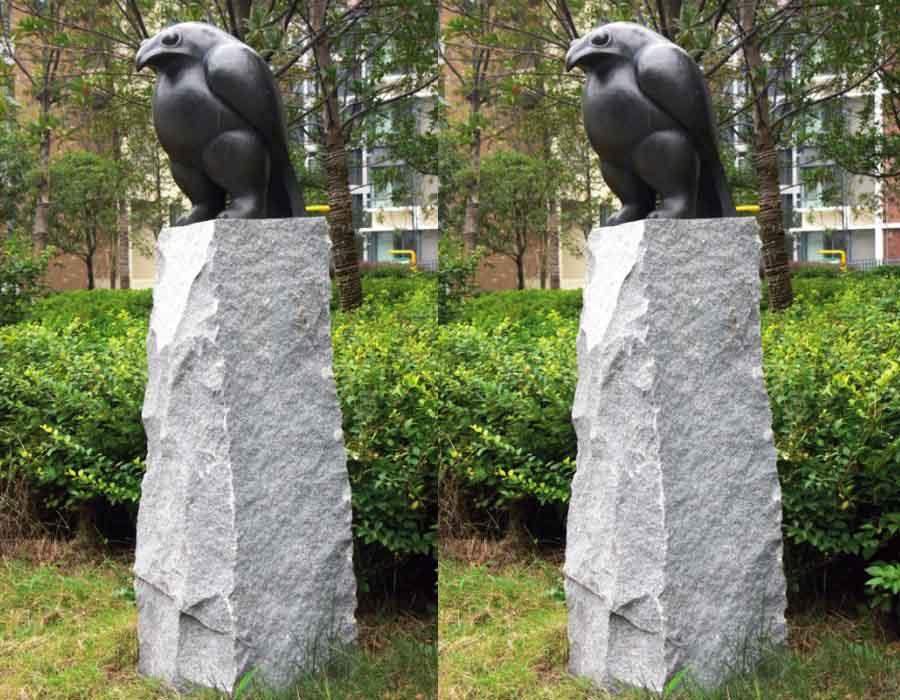 bonnie sculpture-Bronze Bird Sculpture900x700