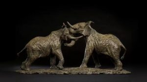 bonnie sculpture-Bronze Elephant Sculpture770x430