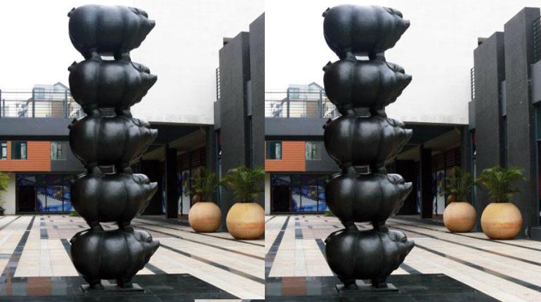bonnie sculpture-Bronze Pig Sculpture770x430
