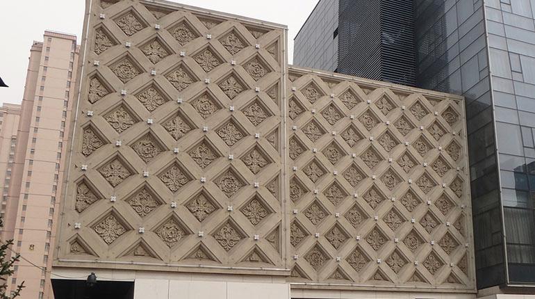 bonnie sculpture-Granite Flower Relief Outdoor Wall Décor770x430-2
