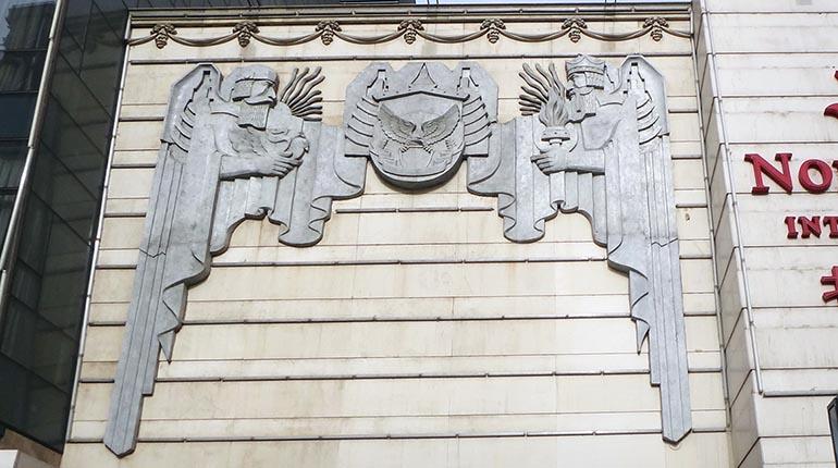bonnie sculpture-High Relief Outdoor Wall Décor Granite Relief 770x430
