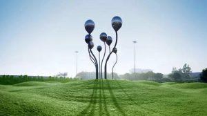 bonnie sculpture-Metal Sculpture Stainless Steel Balloon Sculpture770x430