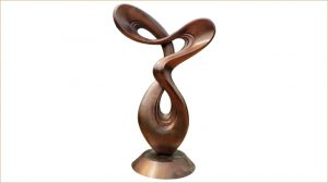 bonnie sculpture-Modern Metal Abstract Sculpture Wrought Copper Sculpture770x430