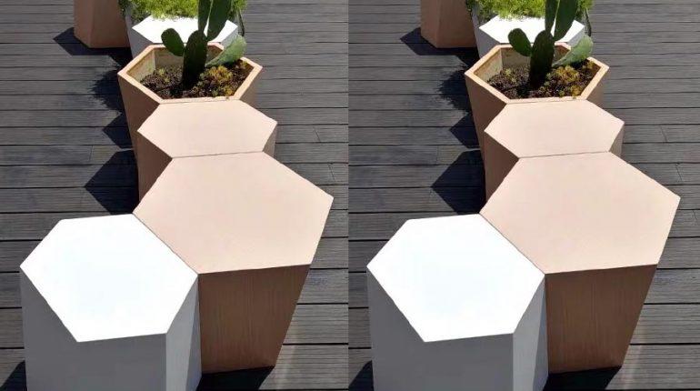 bonnie sculpture-Stainless Steel Flower Pot5-900x700