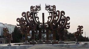 bonnie sculpture-Wrought Copper Ancient Mysterious Animal Sculpture 770x430