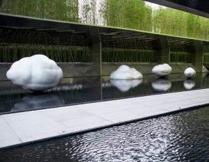 bonniesculpture-Stainless Steel Cloud Sculpture